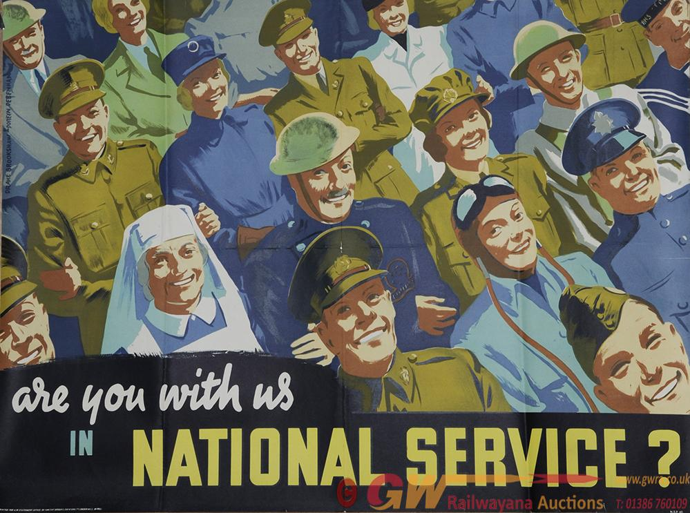Poster Advertising 'Are You With Us In National