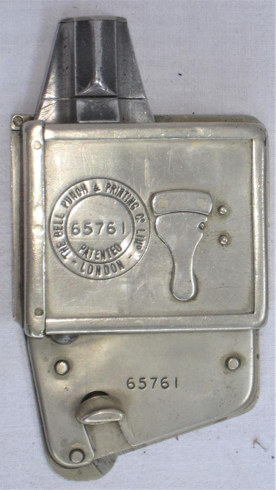 A Tram Lines Or Early Bus Conductor's TICKET PUNCH