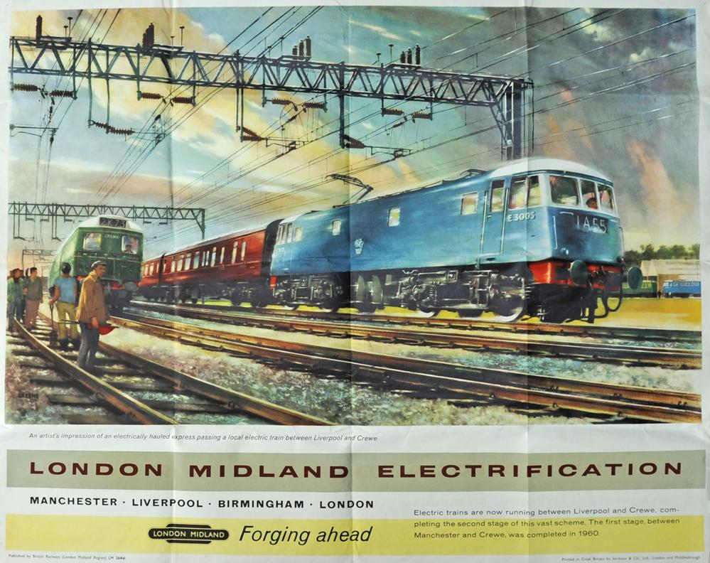 BR Poster 'London Midland Electrification,
