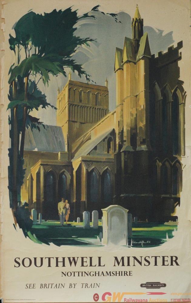 Poster 'Southwell Minster, Nottingham' By Claude