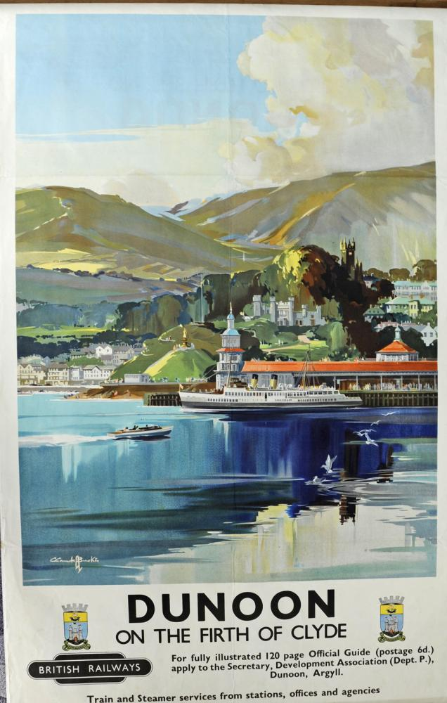 BR Poster Dunoon - On The Firth Of Clyde By Claude