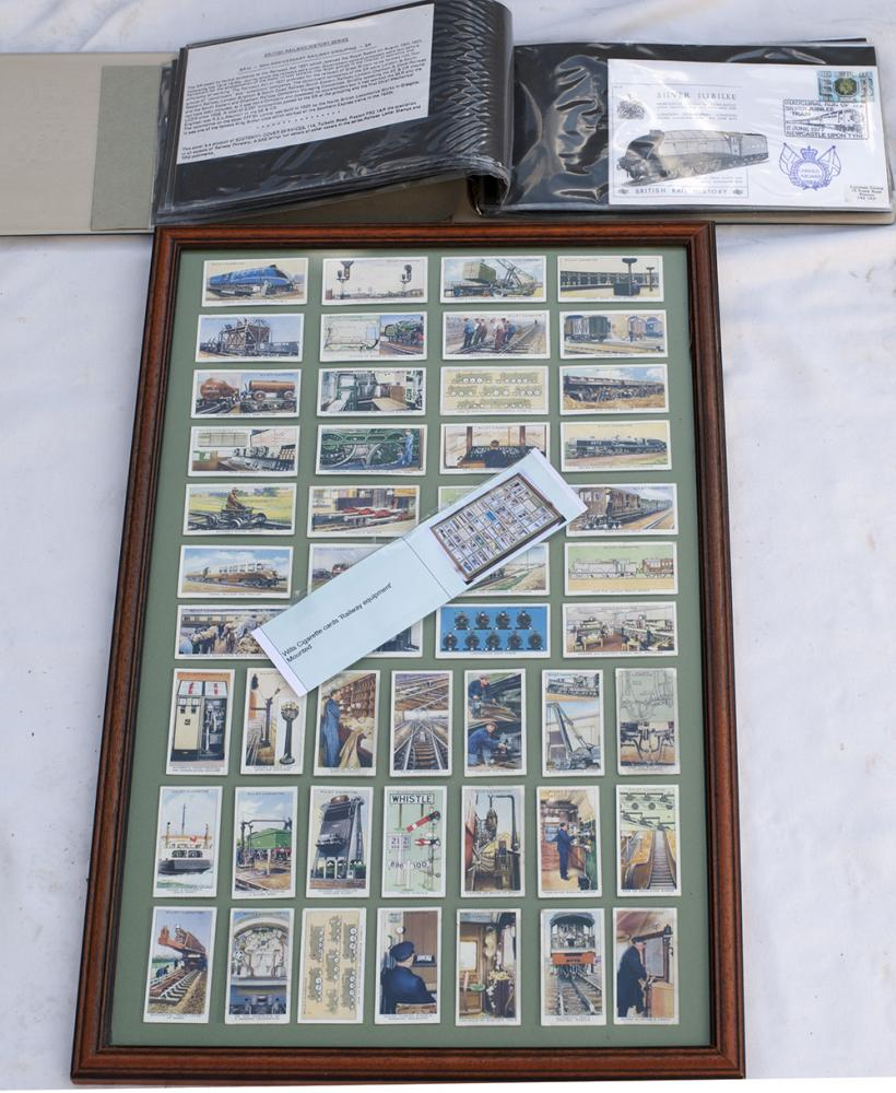 A Collection Of British Railway First Day Covers