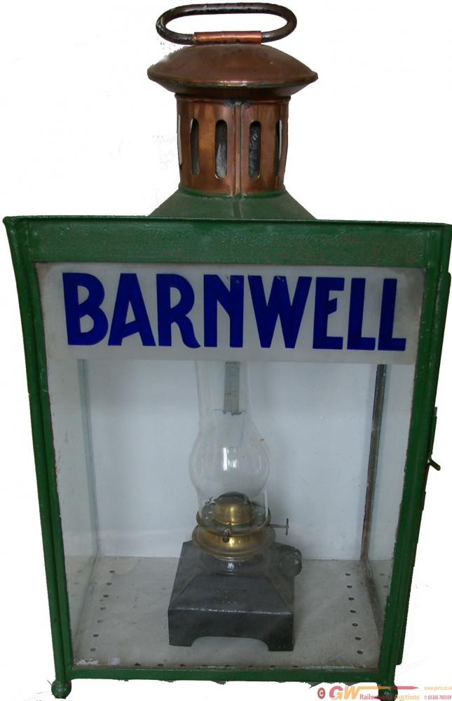 BR(M) Platform Lamp With Lamp Name BARNWELL. No