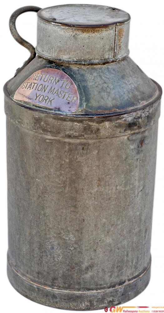 BR(E) Galvanised Water Carrier Embossed BR(E) And