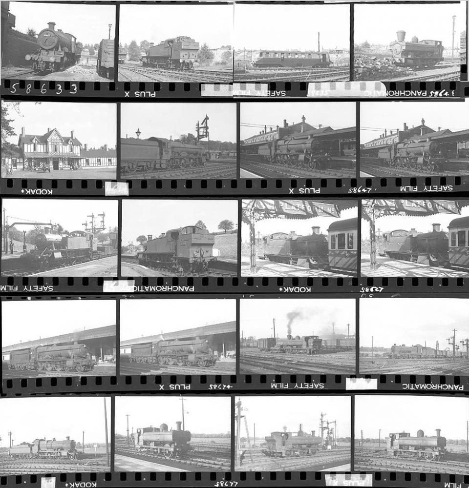 Approximately 86, 35mm Negatives. Includes
