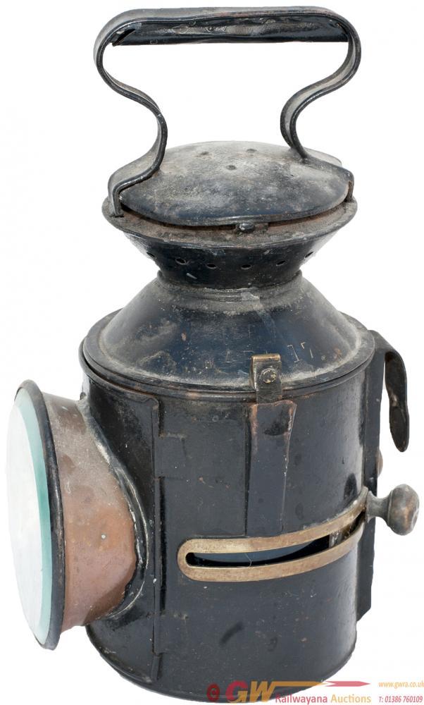 GER 3 Aspect Sliding Knob Handlamp Stamped In The