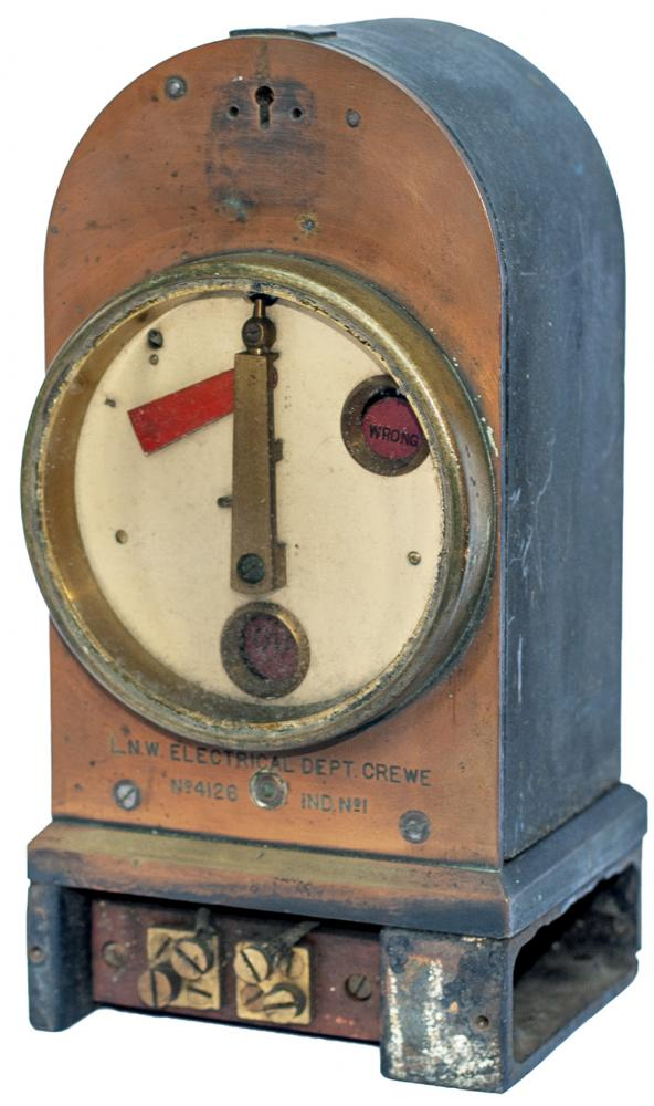 LNWR Steel And Brass Cased Signal Indicator With