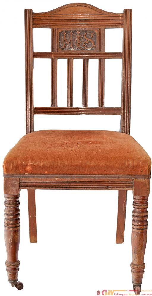 MSL Mahogany Chair In Good Original Condition With