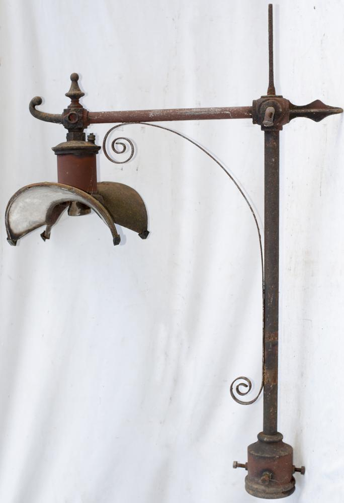 2 X Electric Platform Lamps With GEC Embossed