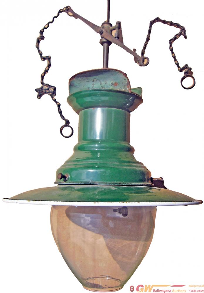 Sugg Platform Gas Lamp, One Of The Small Type That