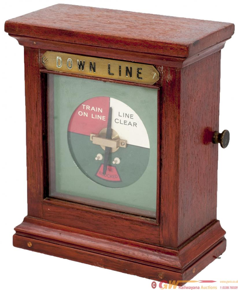 LNER/GNR Mahogany Cased Single Line Repeater Brass