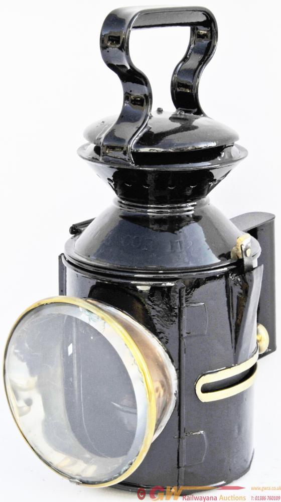 GER Sliding Knob Handlamp Stamped 112 WHITEMOOR