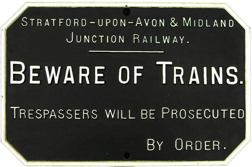 Stratford-On-Avon & Midland Junction C/I  Beware