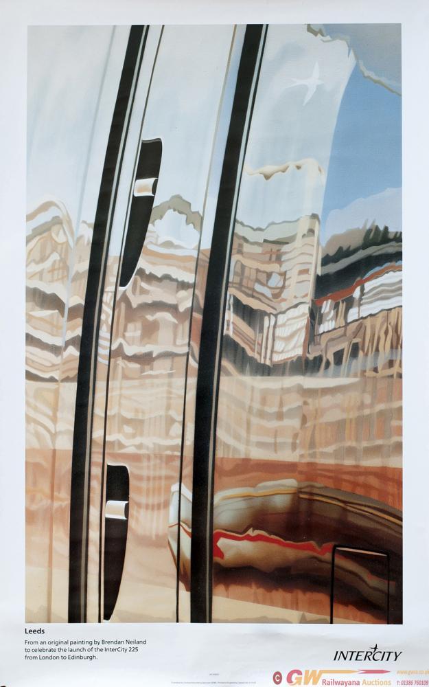 Poster BR Intercity LEEDS By Brendan Neiland.
