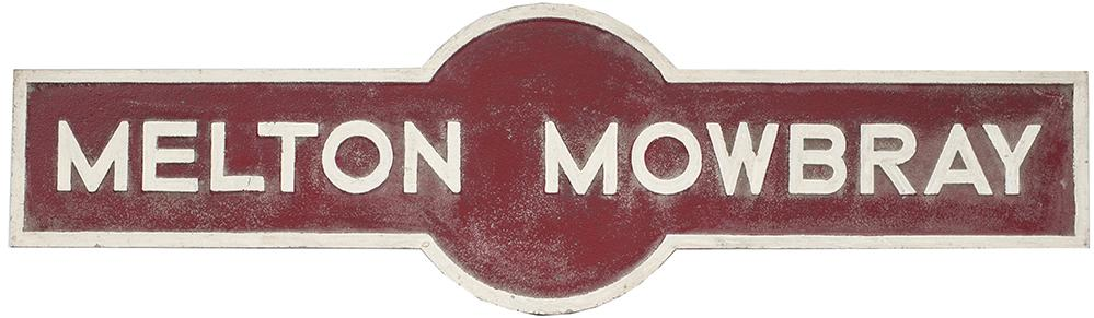 LMS Hawkseye MELTON MOWBRAY From The Former GN &
