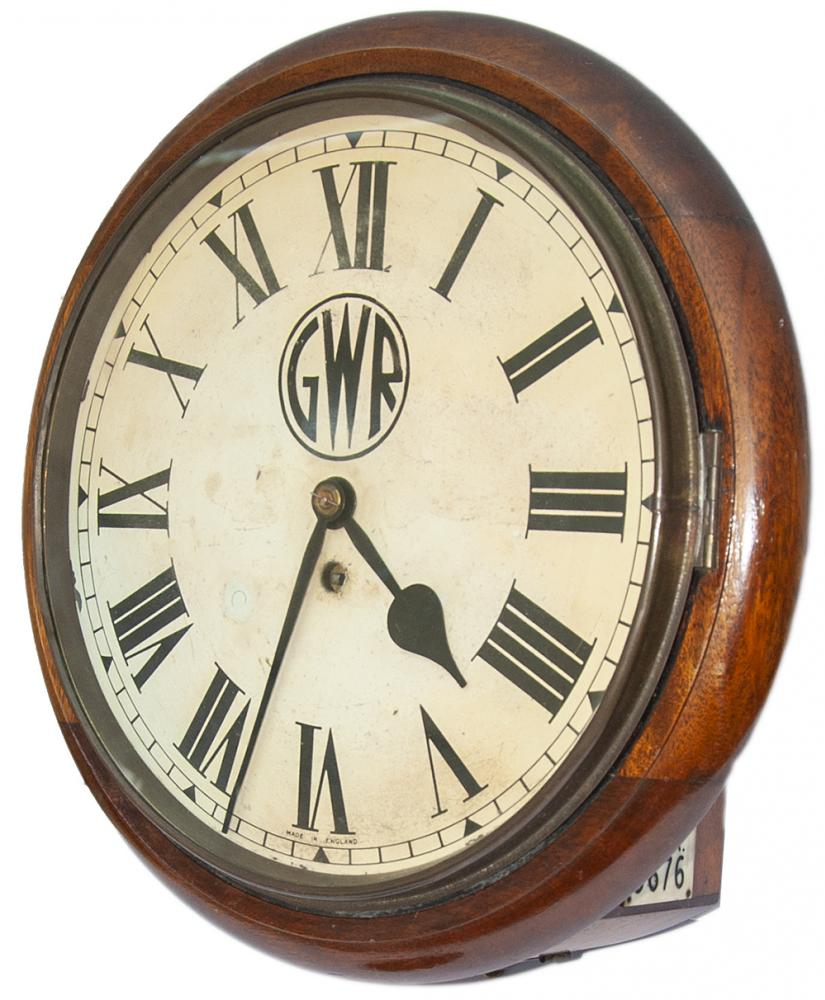 Great Western Railway 12 Inch Mahogany Cased Fusee