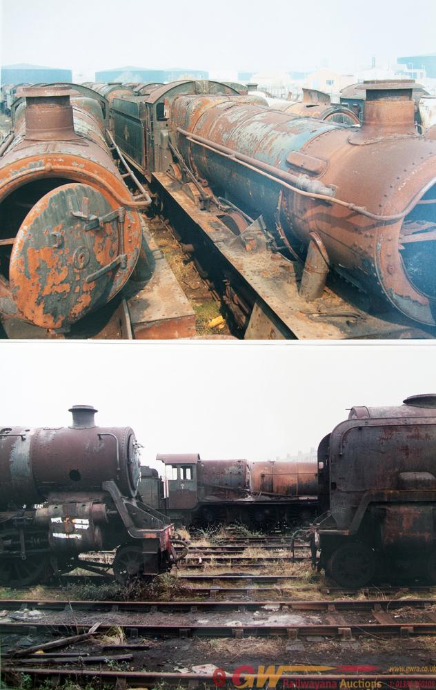 Colour Photograph Prints 20 X 16 Inches Of Locos