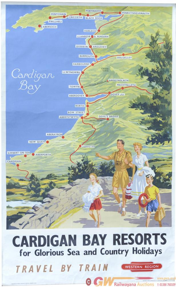 BR Poster 'Cardigan Bay Resorts - For Glorious Sea