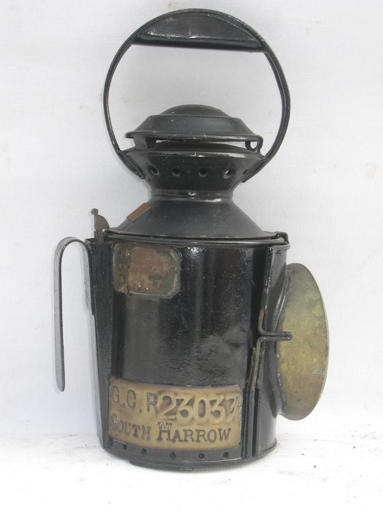 GCR Incomplete Appletons Patent Hand Lamp Plated