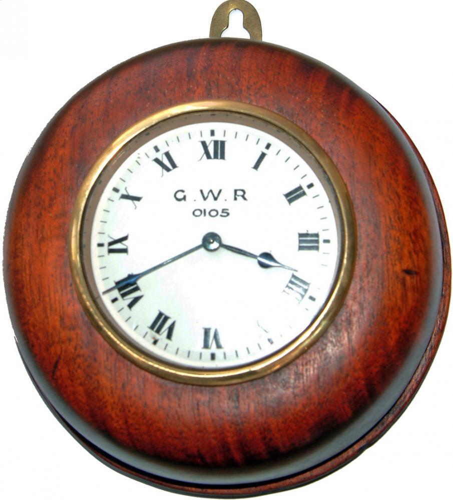 GWR Mahogany Cased 6