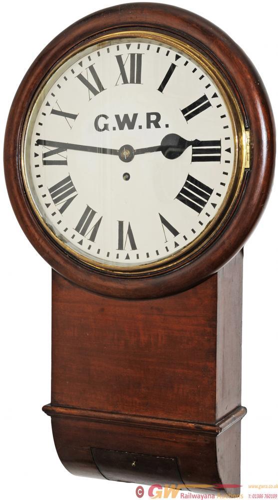 GWR Mahogany Cased 12 Drop Dial Trunk English