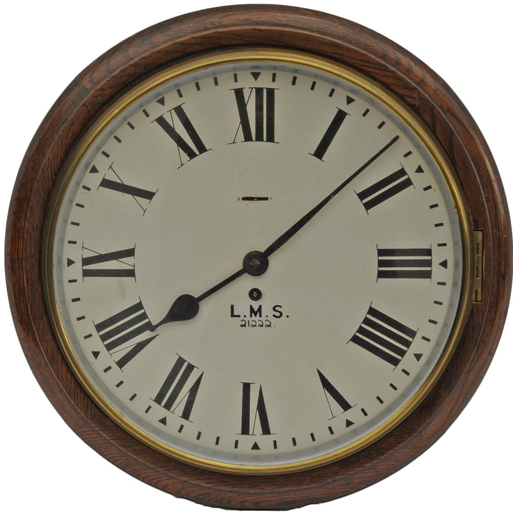 BR(M) Oak Cased Dial Clock, With A Smiths Going