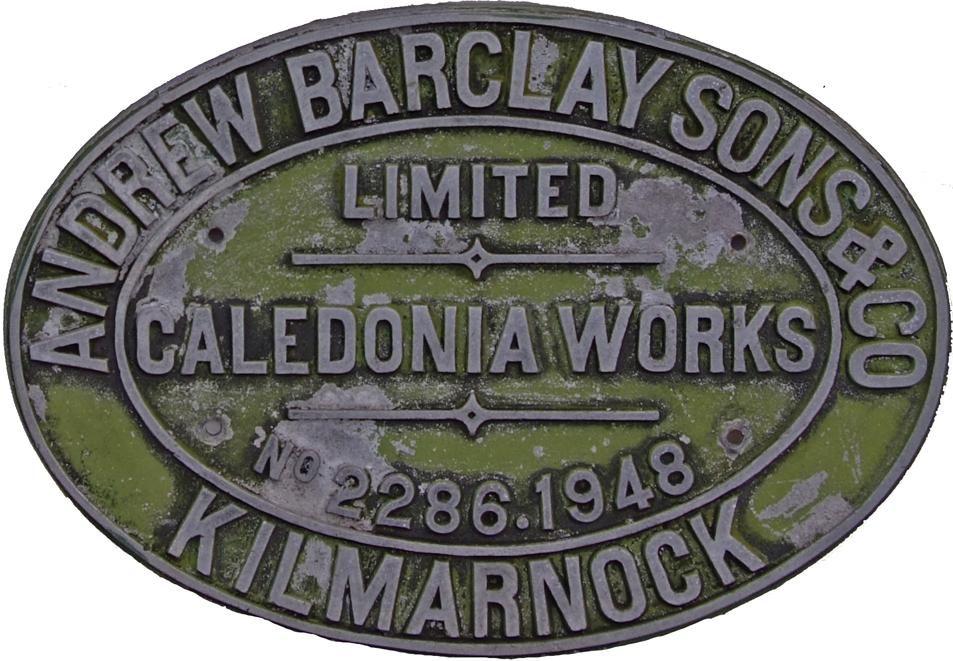 Worksplate, Andrew Barclay Sons & Co Limited,