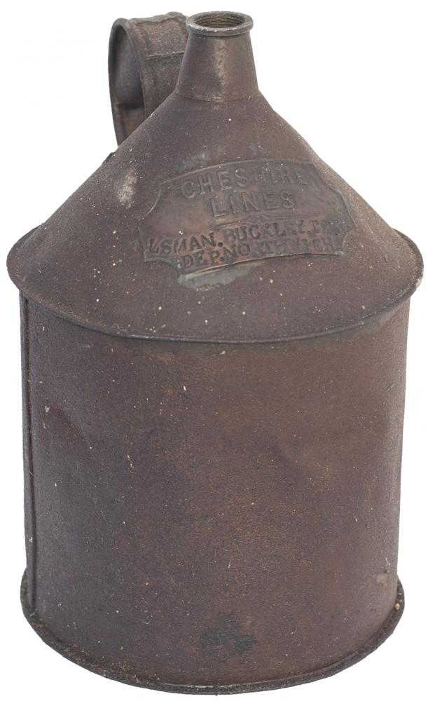 CLC Oil Can Brass Plated CHESHIRE LINES LSMAN.