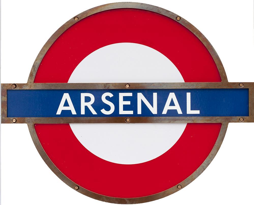 London Transport Underground Enamel