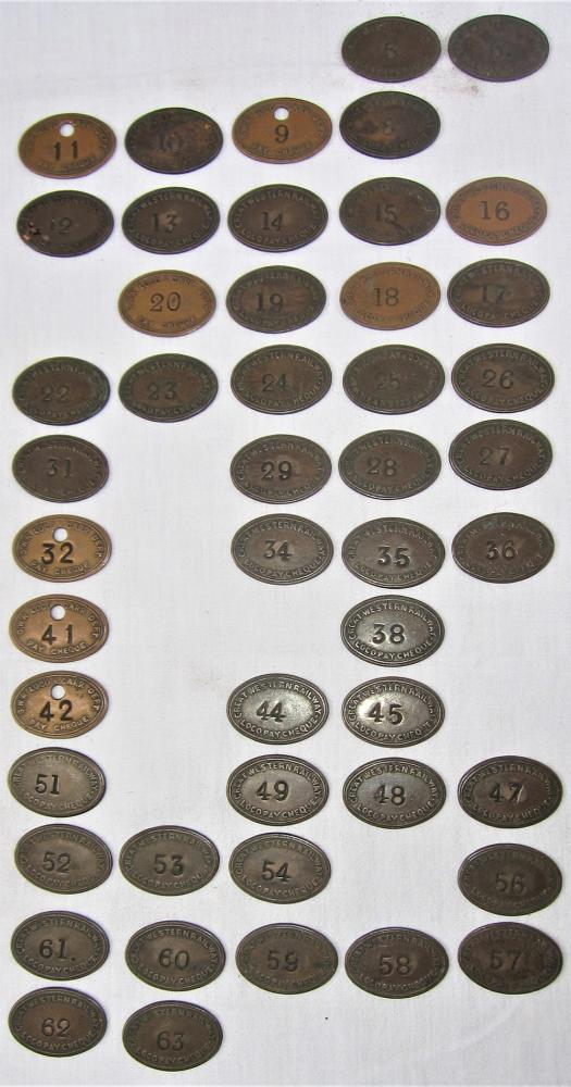 A Collection Of 48 GWR Oval LOCO DEPT Pay Checks