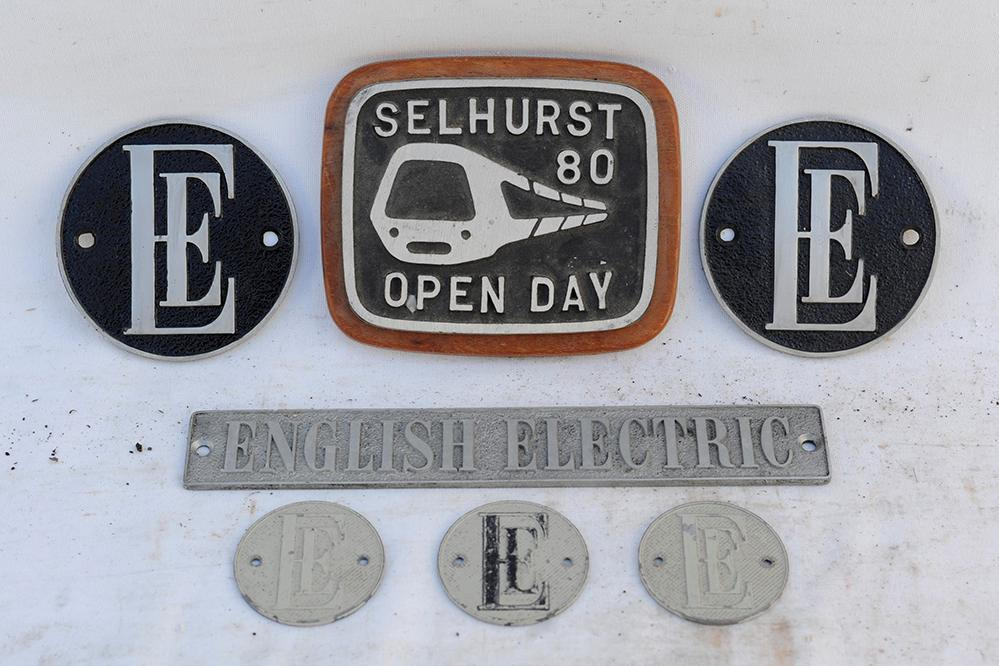 A Collection Of 6 ENGLISH ELECTRIC PLATES Together