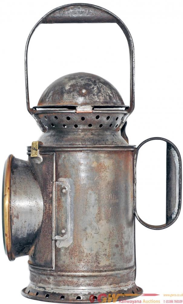 GWR Large Steel Top 3 Aspect Handlamp, Similar In