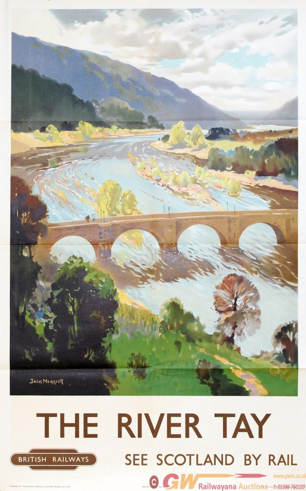 Poster BR(Sc) 'The River Tay - See Scotland By