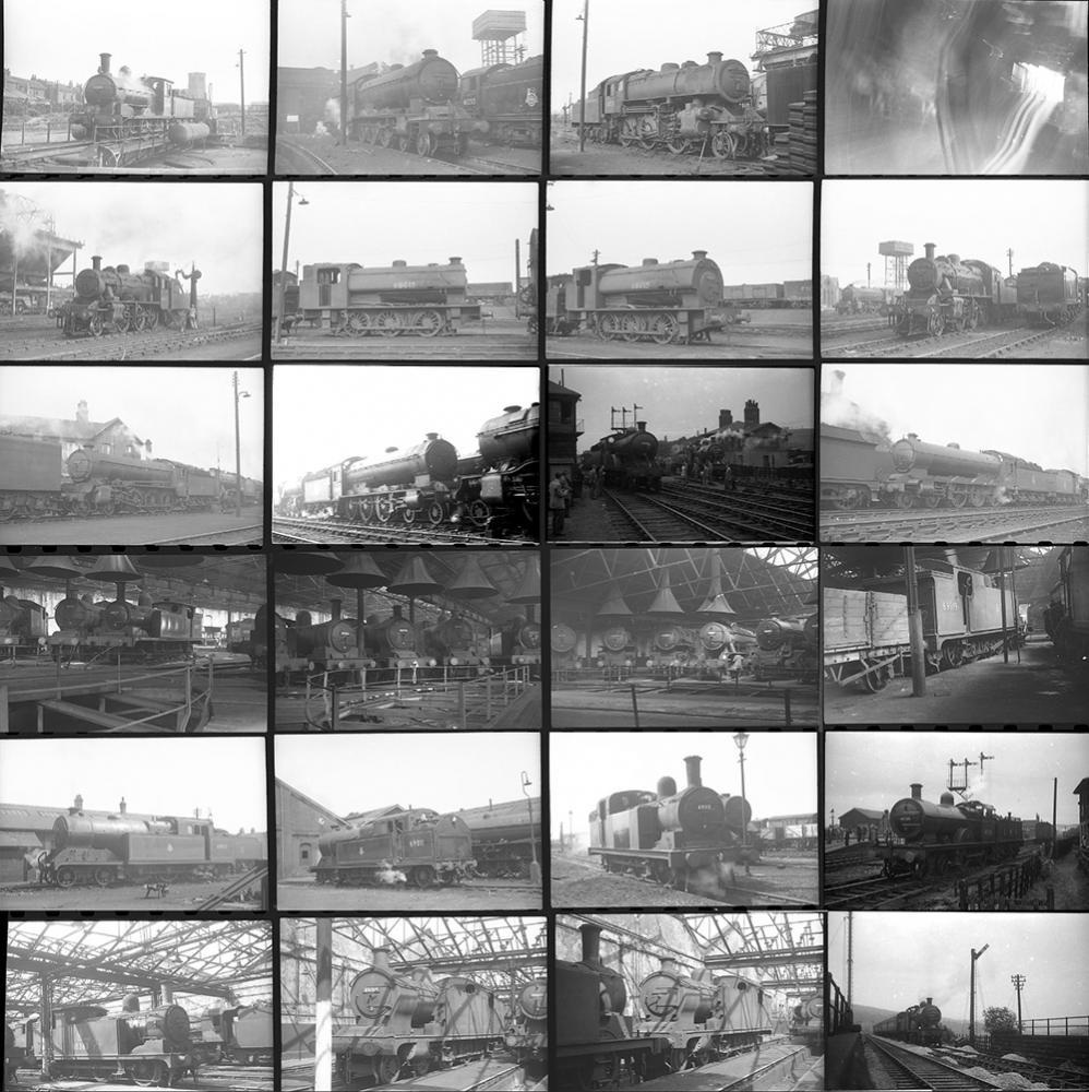 Approximately 150 35mm Negatives. Taken In 1952