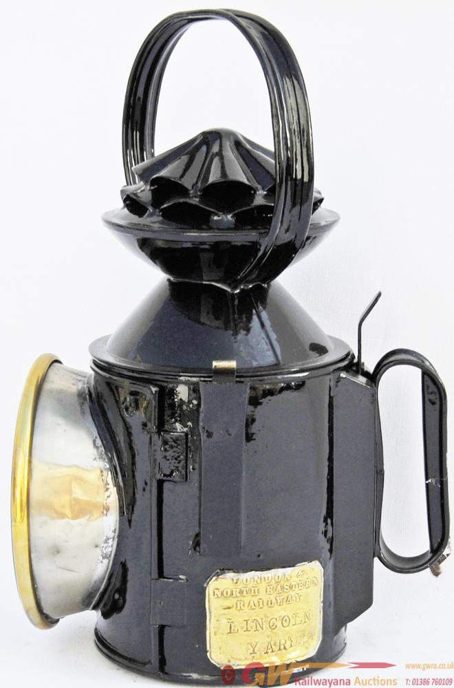LNER GNR Pattern Double Pie-Crust Handlamp Brass