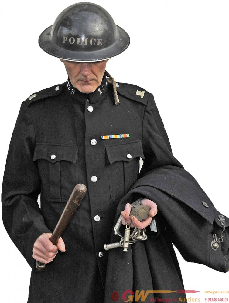LNER Policeman's Tunic And Cape With Original