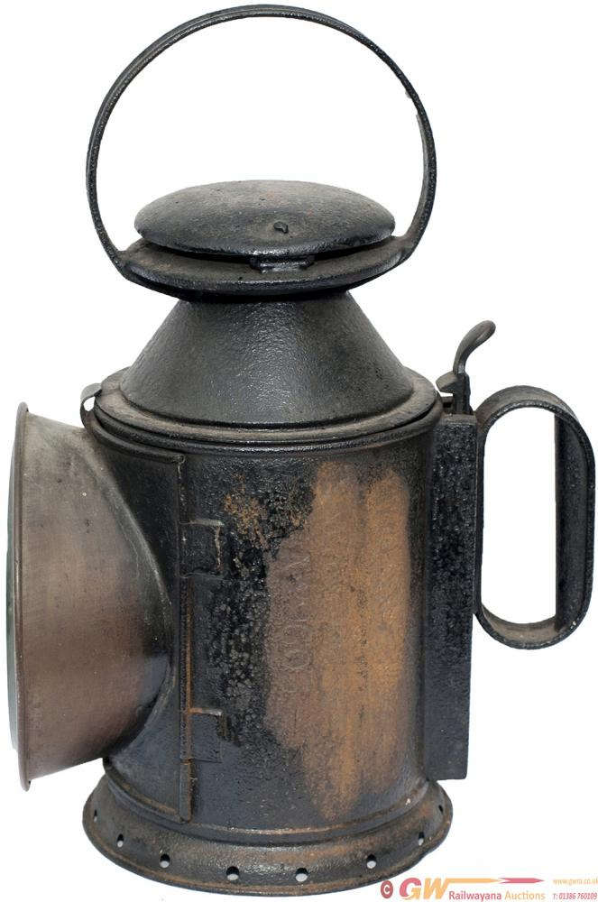 LNWR 3 Aspect Handlamp, Stamped In The Reducing