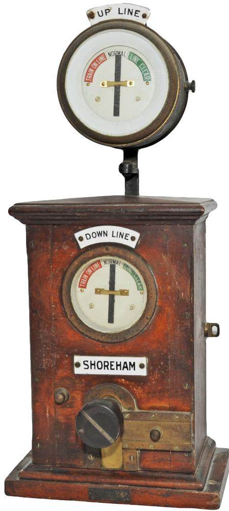 SR Sykes Double Line Block Instrument With Up Line
