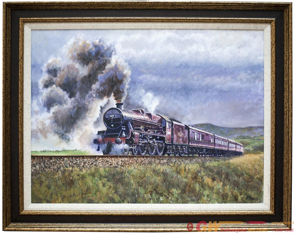 Original Oil Painting On Canvas Of LMS Jubilee