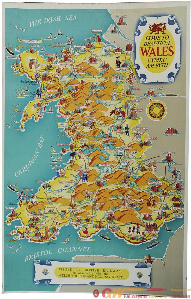 Poster, BR In Association With The Welsh Tourist