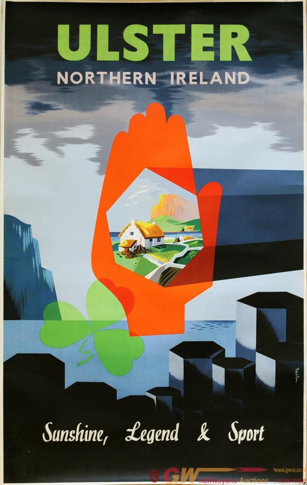 Poster 'Ulster Northern Ireland - Sunshine,