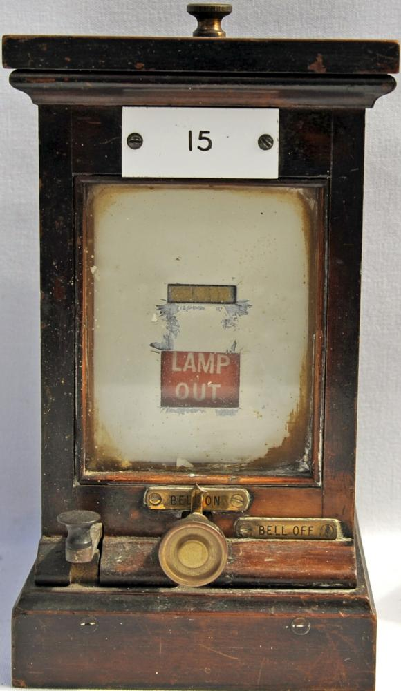 GWR Wood Cased Lamp In/Out Instrument Manufactured