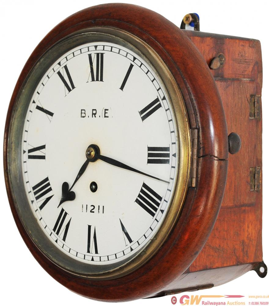 Great Northern Railway 8in Fusee Clock In A