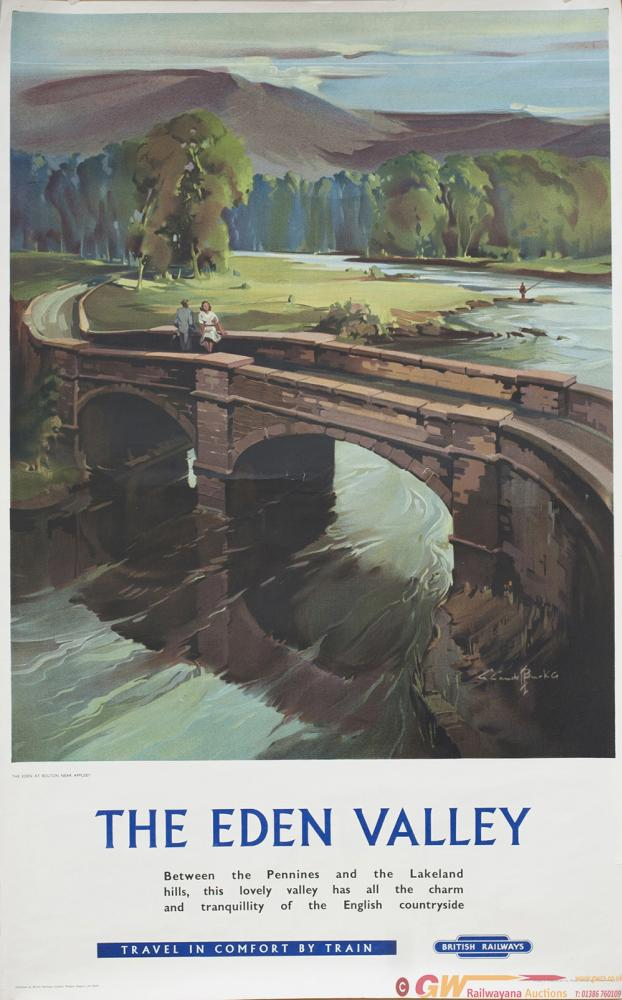 Poster BR THE EDEN VALLEY By Claude Buckle. Double