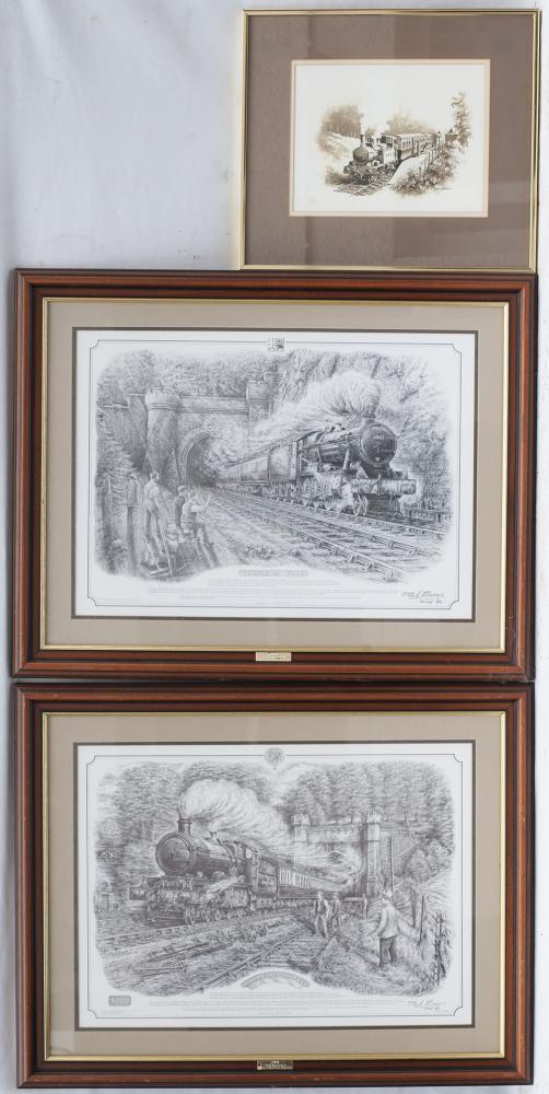 3 X Framed And Glazed PRINTS. Don Breckon 14xx