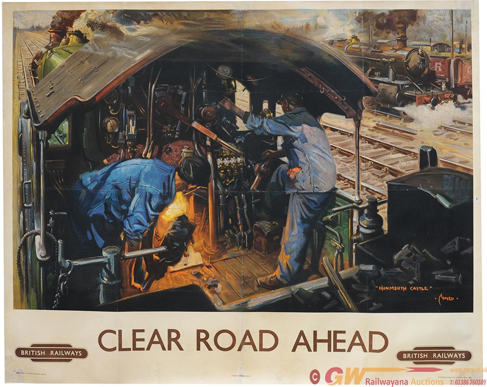 Poster 'Clear Road Ahead - Monmouth Castle' By