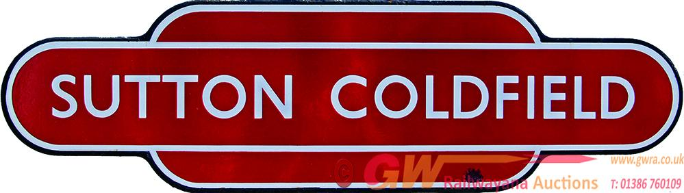 Totem, BR(M) SUTTON COLDFIELD, F/F. Ex LNWR