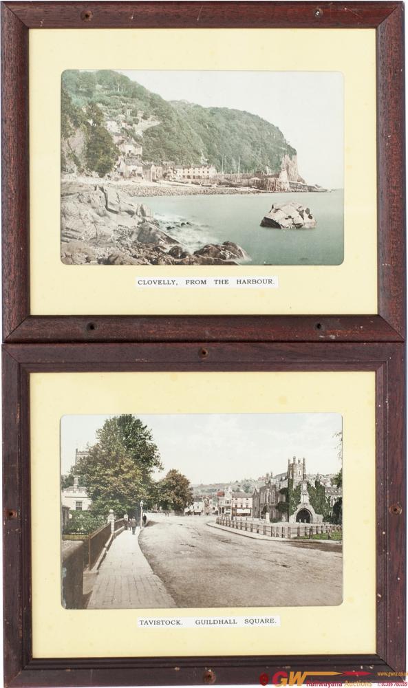 GWR Pre-War Photochrom Colour-Tinted Panel