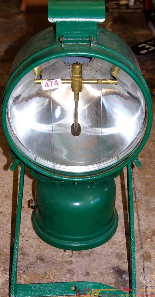 GWR Large Tunnel/PWay Tilley Lamp With A Huge, 14
