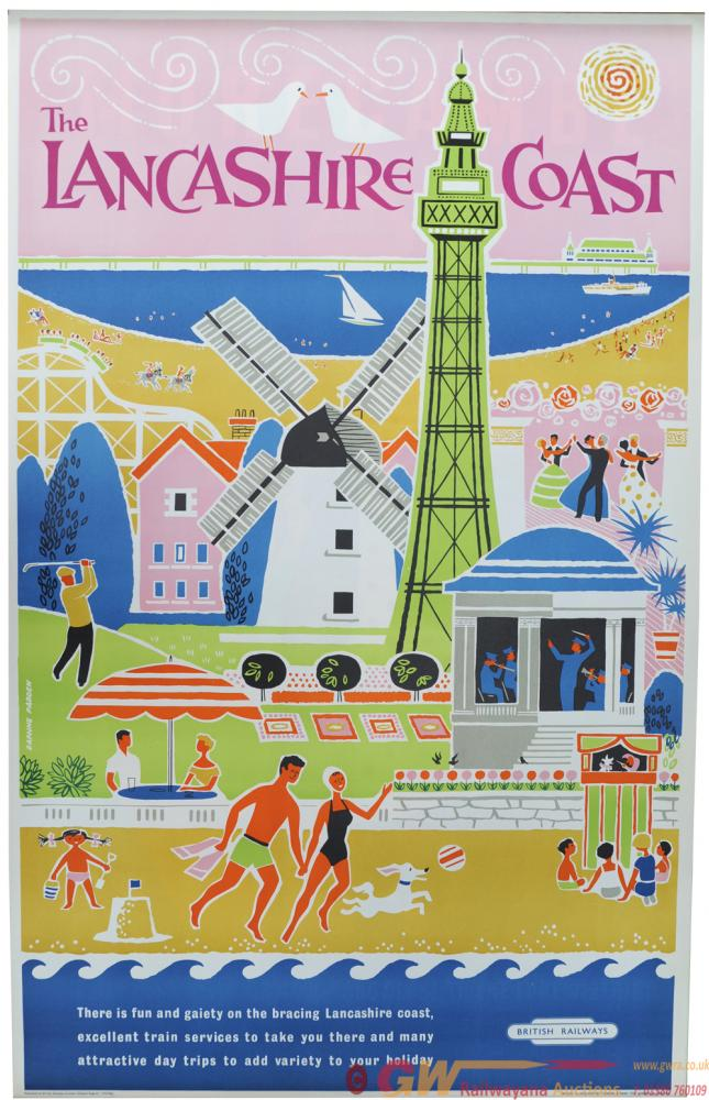 BR Poster, Lancashire Coast - There Is Fun And